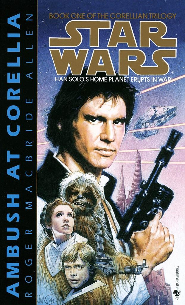 Ambush at Corellia: Star Wars Legends (the Corellian Trilogy) als Taschenbuch