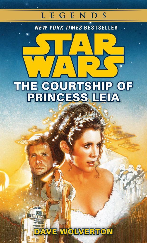 The Courtship of Princess Leia: Star Wars Legends als Taschenbuch