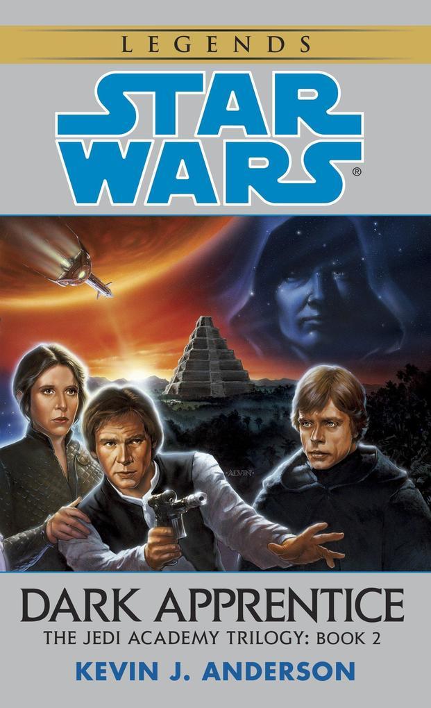 Dark Apprentice: Star Wars Legends (the Jedi Academy) als Taschenbuch