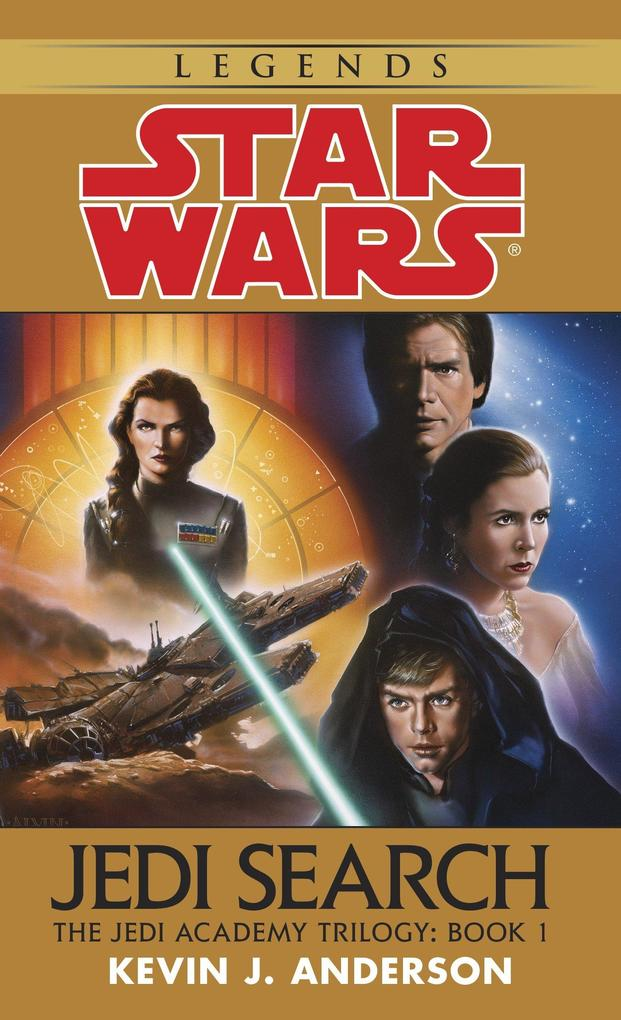 Jedi Search: Star Wars Legends (the Jedi Academy): Volume 1 of the Jedi Academy Trilogy als Taschenbuch