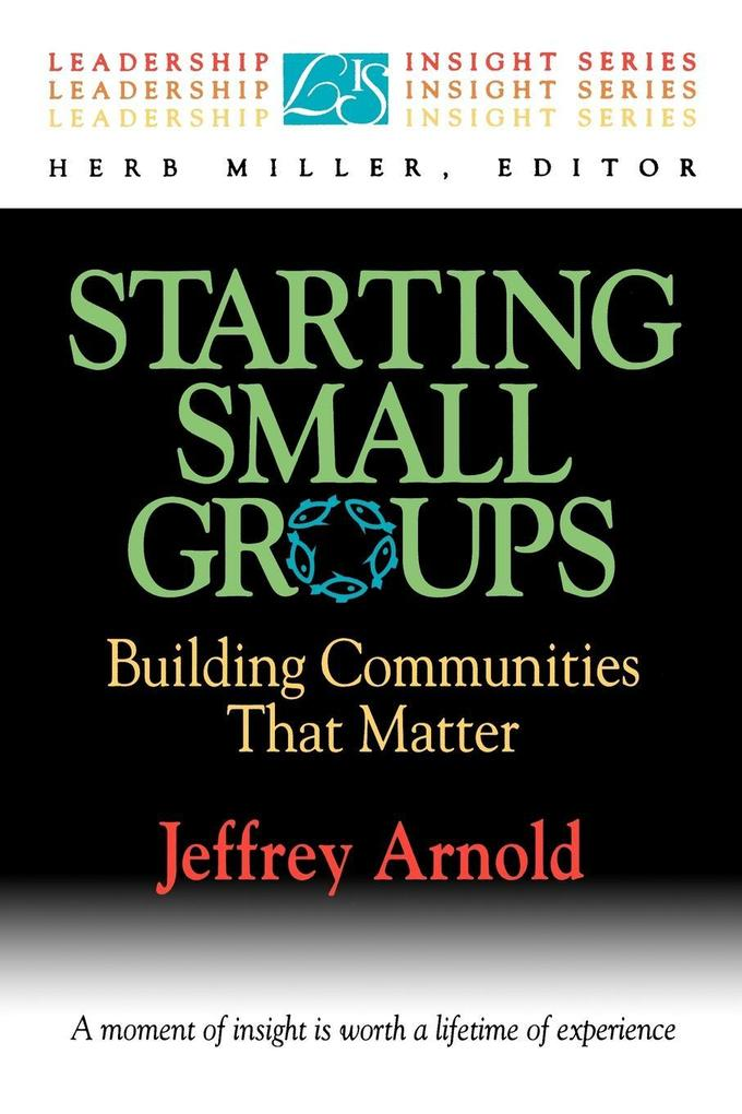 Starting Small Groups als Taschenbuch