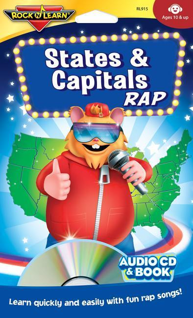 States & Capitals Rap [With Book(s)] als Hörbuch