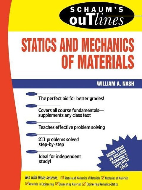 Schaum's Outline of Statics and Mechanics of Materials als Taschenbuch
