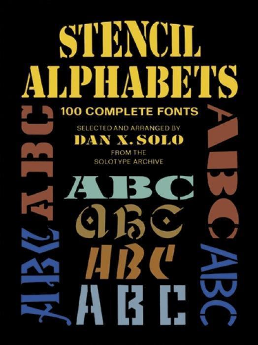 Stencil Alphabets als Taschenbuch