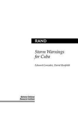 Storm Warnings for Cuba als Taschenbuch