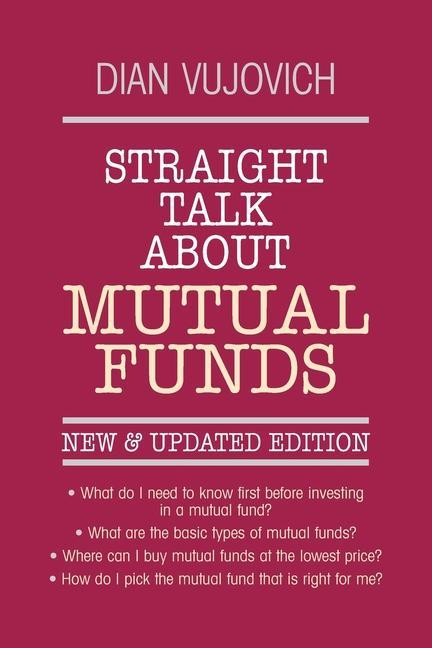 Straight Talk about Mutual Funds als Taschenbuch