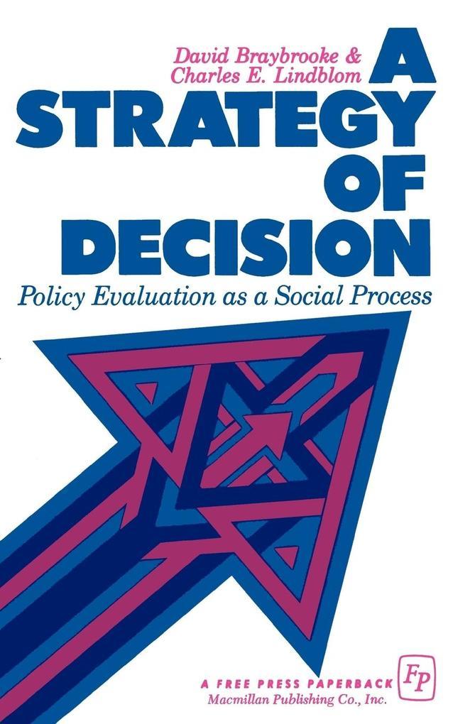 A Strategy of Decision als Taschenbuch