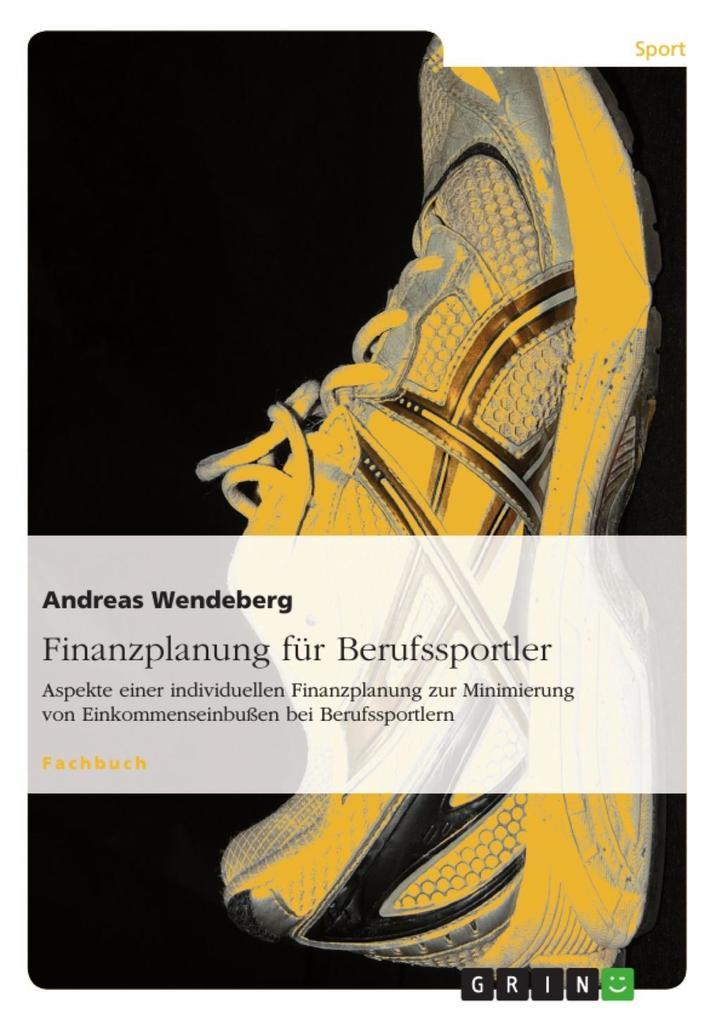 Finanzplanung für Berufssportler als eBook