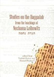 Studies on the Haggadah from the Teachings of Nechama Leibowitz als Buch