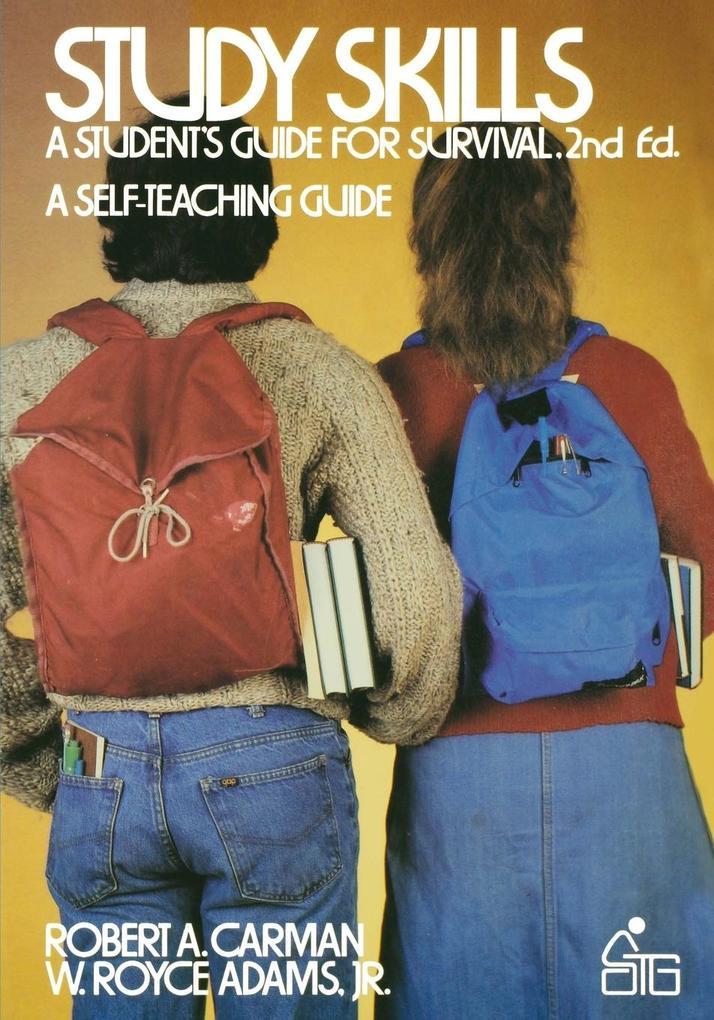 Study Skills: A Student's Guide to Survival als Taschenbuch