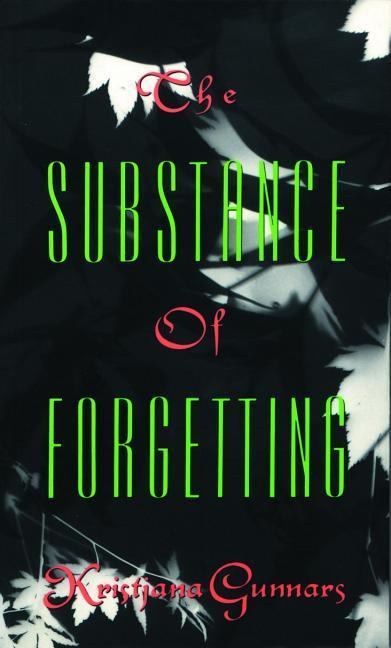 The Substance of Forgetting als Taschenbuch