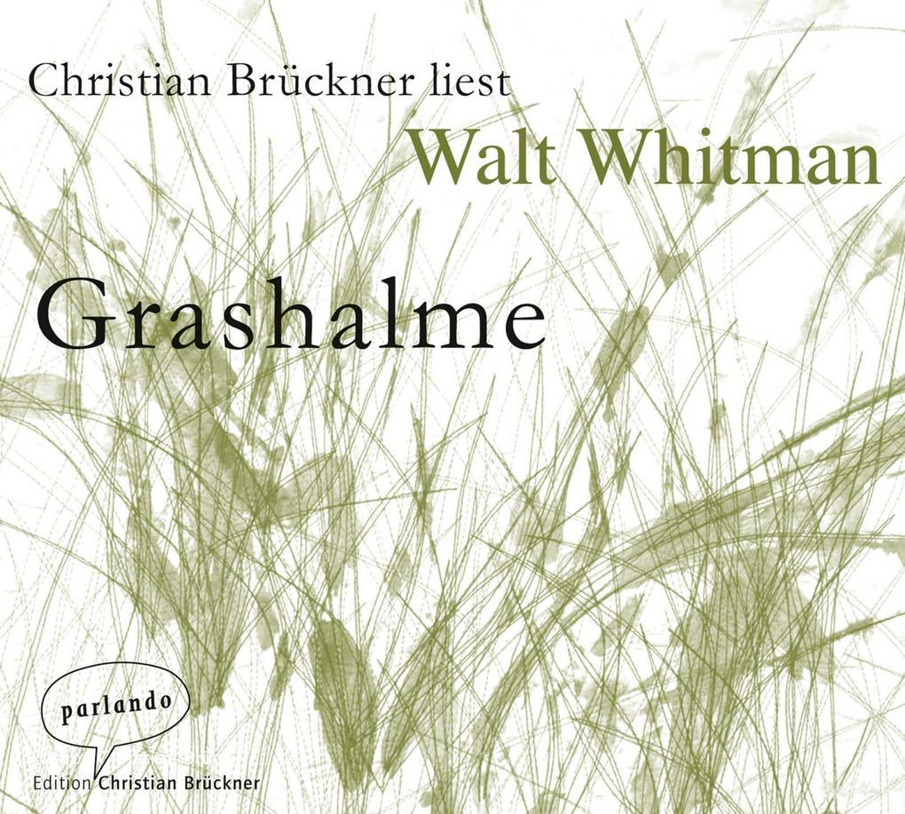 Grashalme als Hörbuch CD