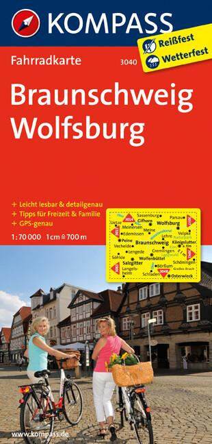 Braunschweig - Wolfsburg 1 : 70 000 als Buch