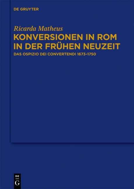 Konversionen in Rom in der Frühen Neuzeit als eBook