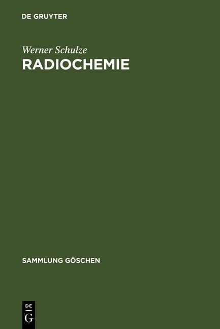 Radiochemie als eBook