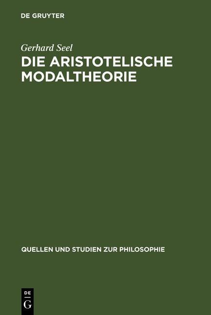 Die Aristotelische Modaltheorie als eBook