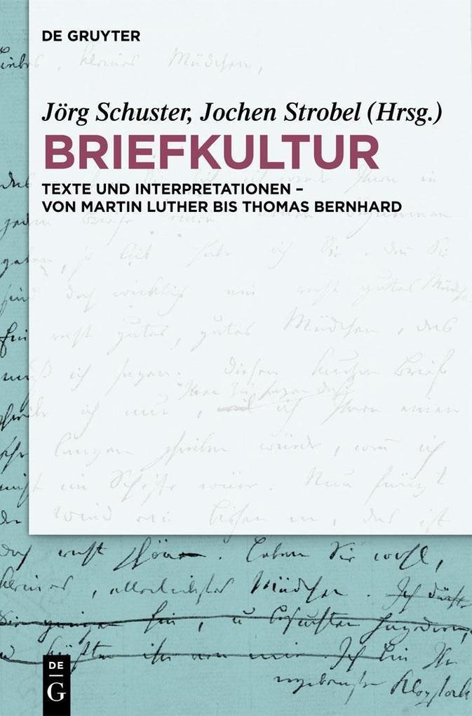 Briefkultur als eBook pdf