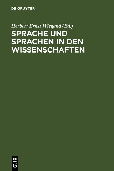 Sprache und Sprachen in den Wissenschaften als eBook