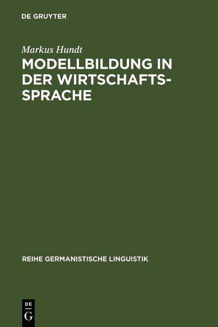 Modellbildung in der Wirtschaftssprache als eBook pdf