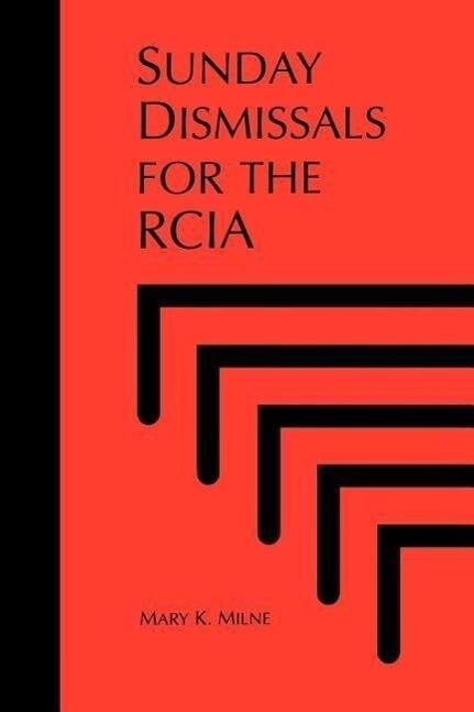 Sunday Dismissals for the Rcia als Taschenbuch