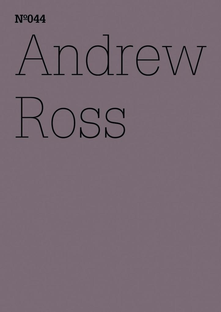 Andrew Ross als eBook