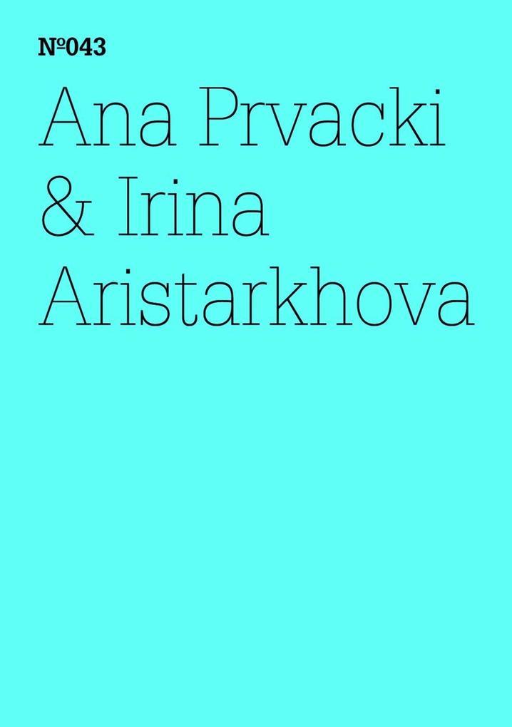 Ana Prvacki & Irina Aristarkhova als eBook