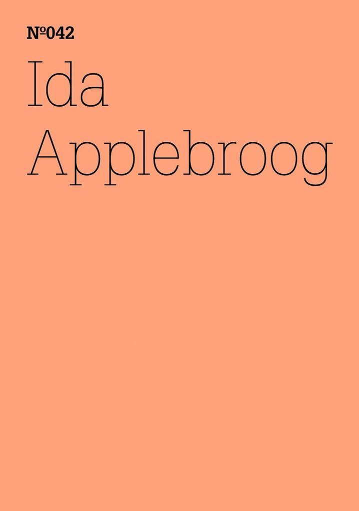 Ida Applebroog als eBook epub