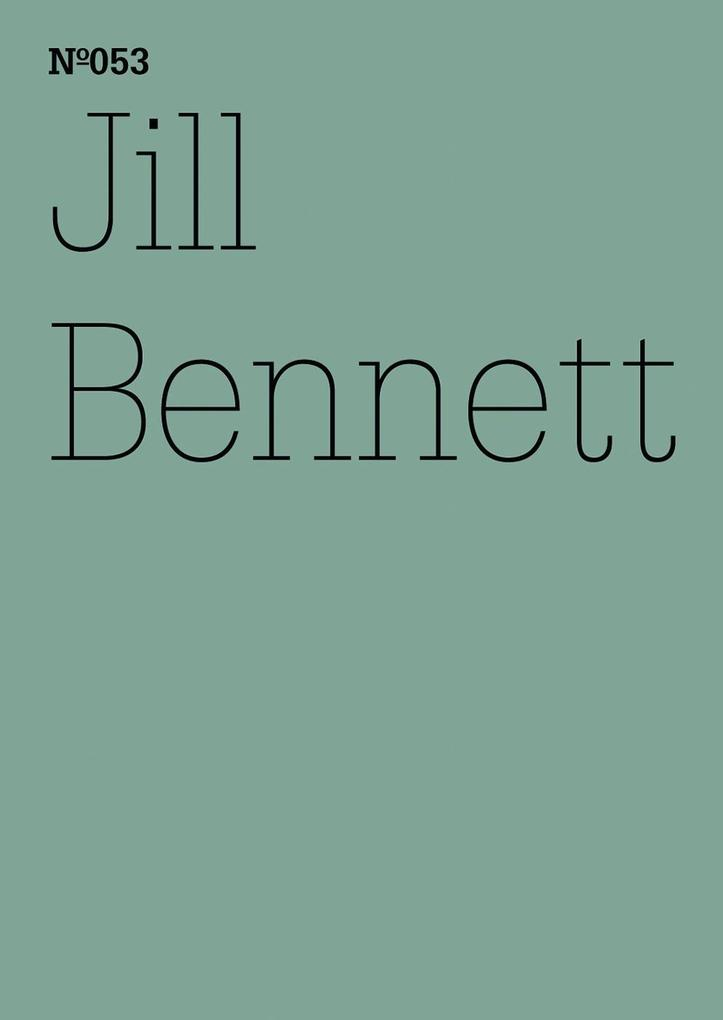 Jill Bennett als eBook