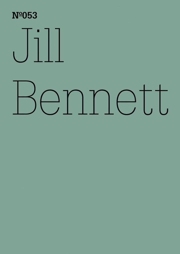 Jill Bennett als eBook epub