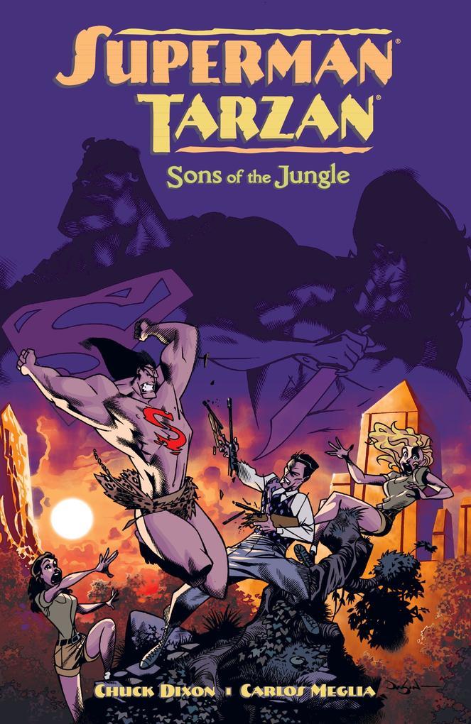 Superman/Tarzan: Sons of the Jungle als Taschenbuch