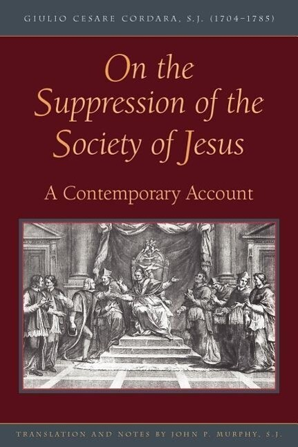On the Suppression of the Society of Jesus als Taschenbuch