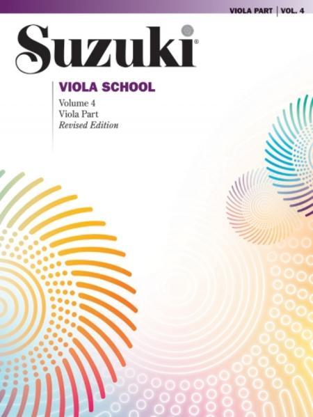 Suzuki Viola School, Vol 4: Viola Part als Buch