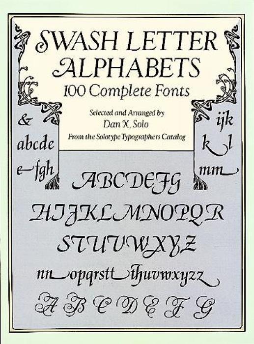 Swash Letter Alphabets als Taschenbuch