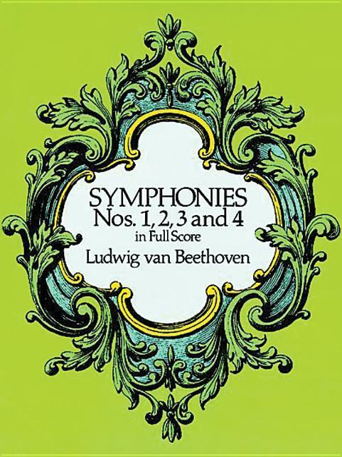 Symphonies Nos. 1, 2, 3 and 4 in Full Score als Taschenbuch