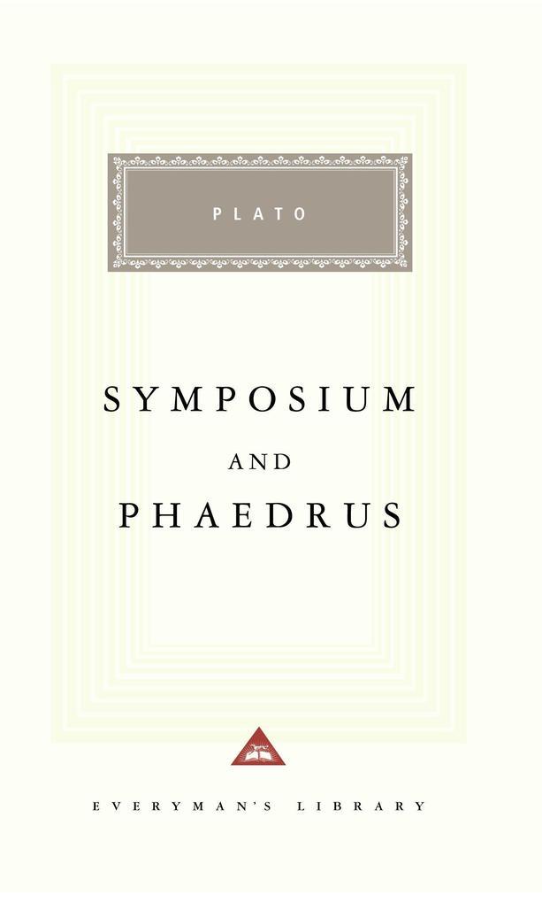 Symposium and Phaedrus als Buch