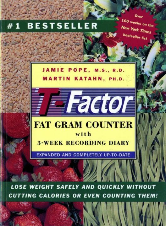 The T-Factor Fat Gram Counter als Taschenbuch