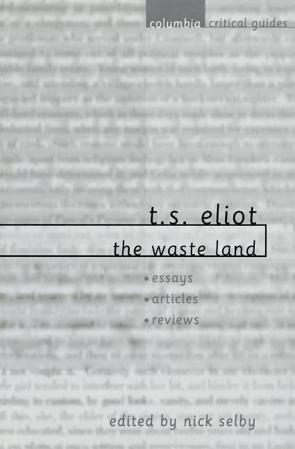 T. S. Eliot: The Waste Land als Taschenbuch