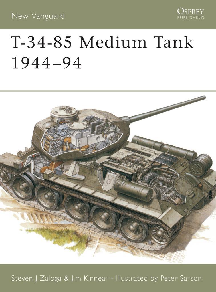 T-34-85 Medium Tank, 1944-94 als Taschenbuch