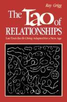 TAO OF RELATIONSHIPS als Taschenbuch