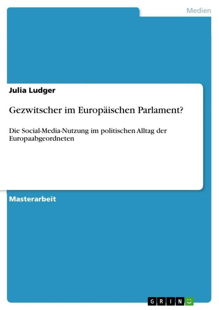 Gezwitscher im Europäischen Parlament?
