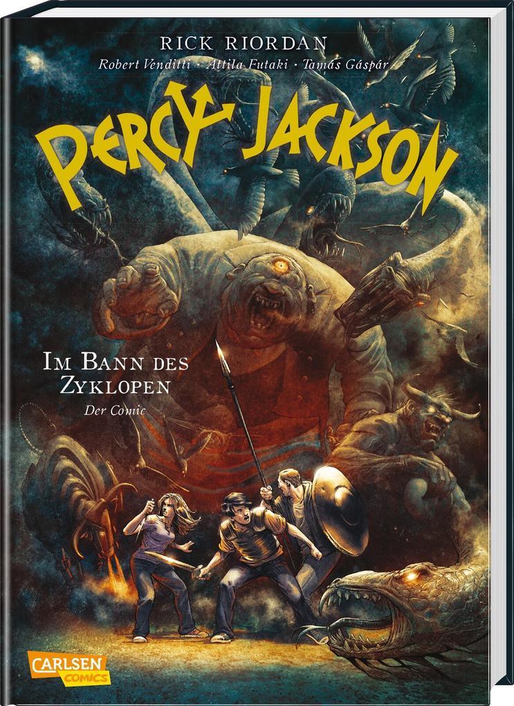 Percy Jackson (Comic) 02: Im Bann des Zyklopen als Buch