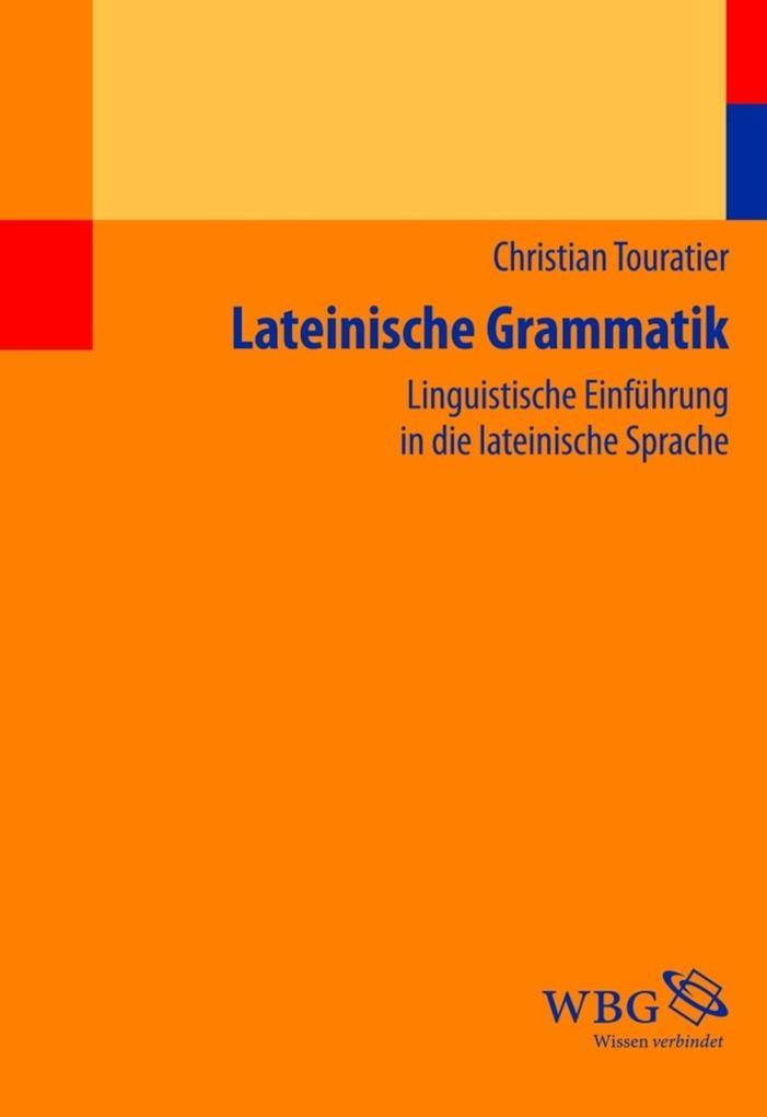 Lateinische Grammatik als Buch