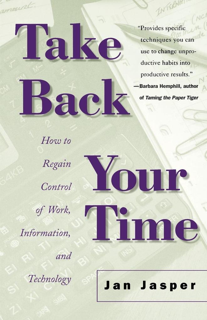 Take Back Your Time als Taschenbuch