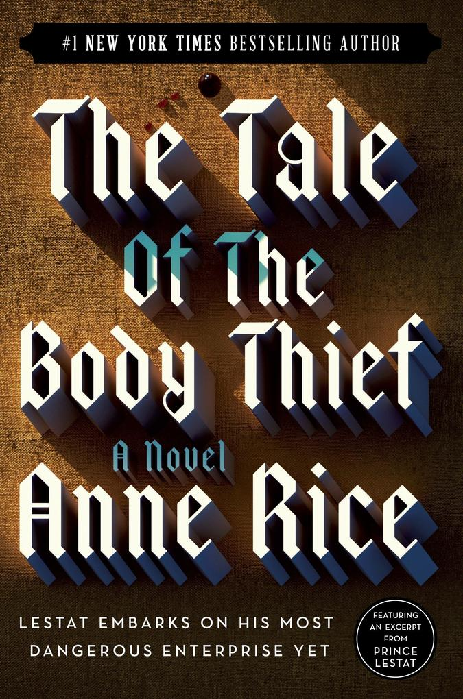 The Tale of the Body Thief als Taschenbuch