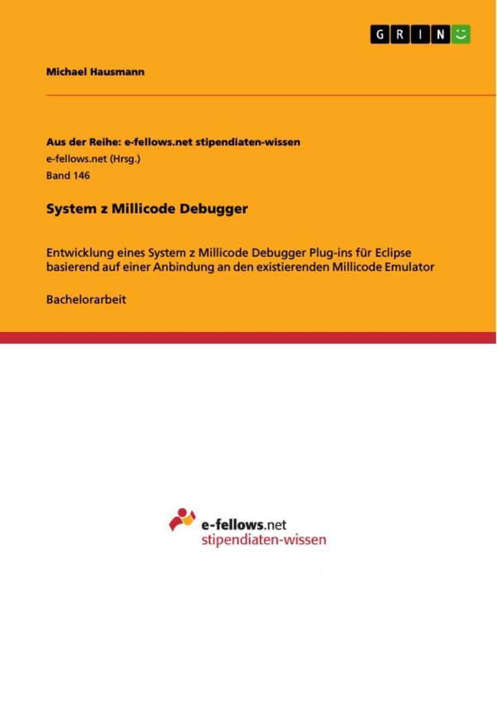 System z Millicode Debugger