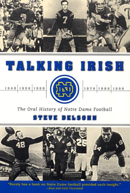 Talking Irish: The Oral History of Notre Dame Football als Taschenbuch