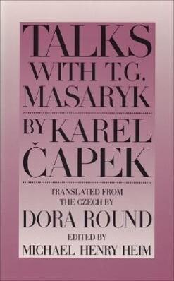 Talks with T. G. Masaryk als Taschenbuch