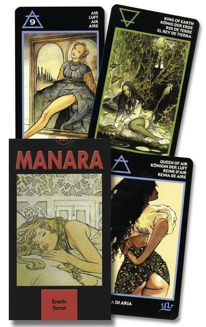Erotic Tarots of Milo Manara als Taschenbuch