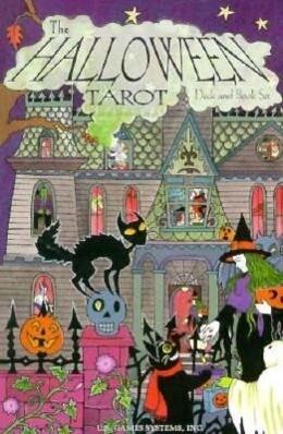 The Halloween Tarot Deck & Book Set: 78-Card Deck [With Book] als Spielwaren