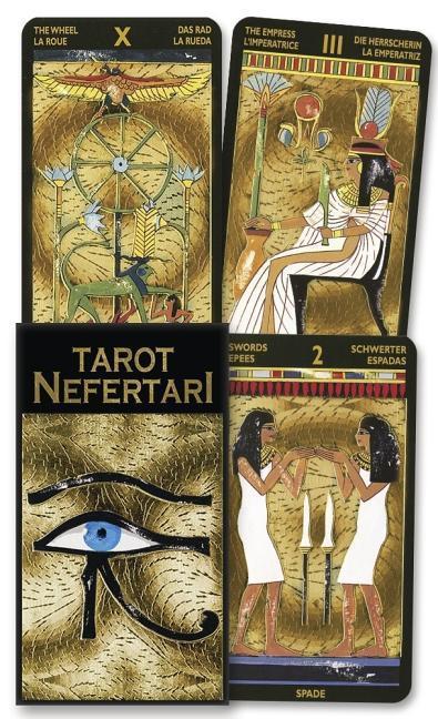 Tarot Nefertari als Taschenbuch